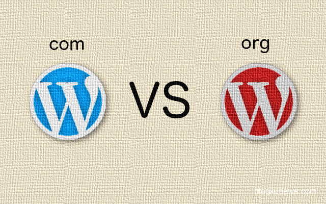 Perbeda'an WordPress.com VS WordPress.org
