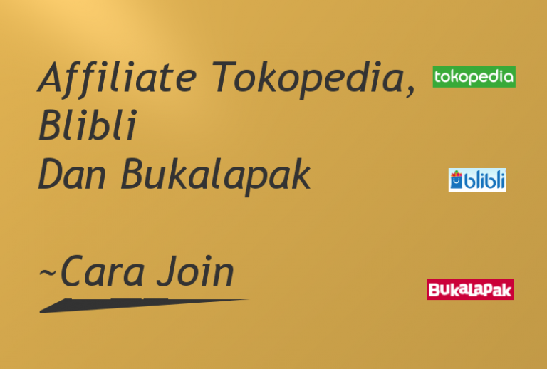 Affiliate Tokopedia